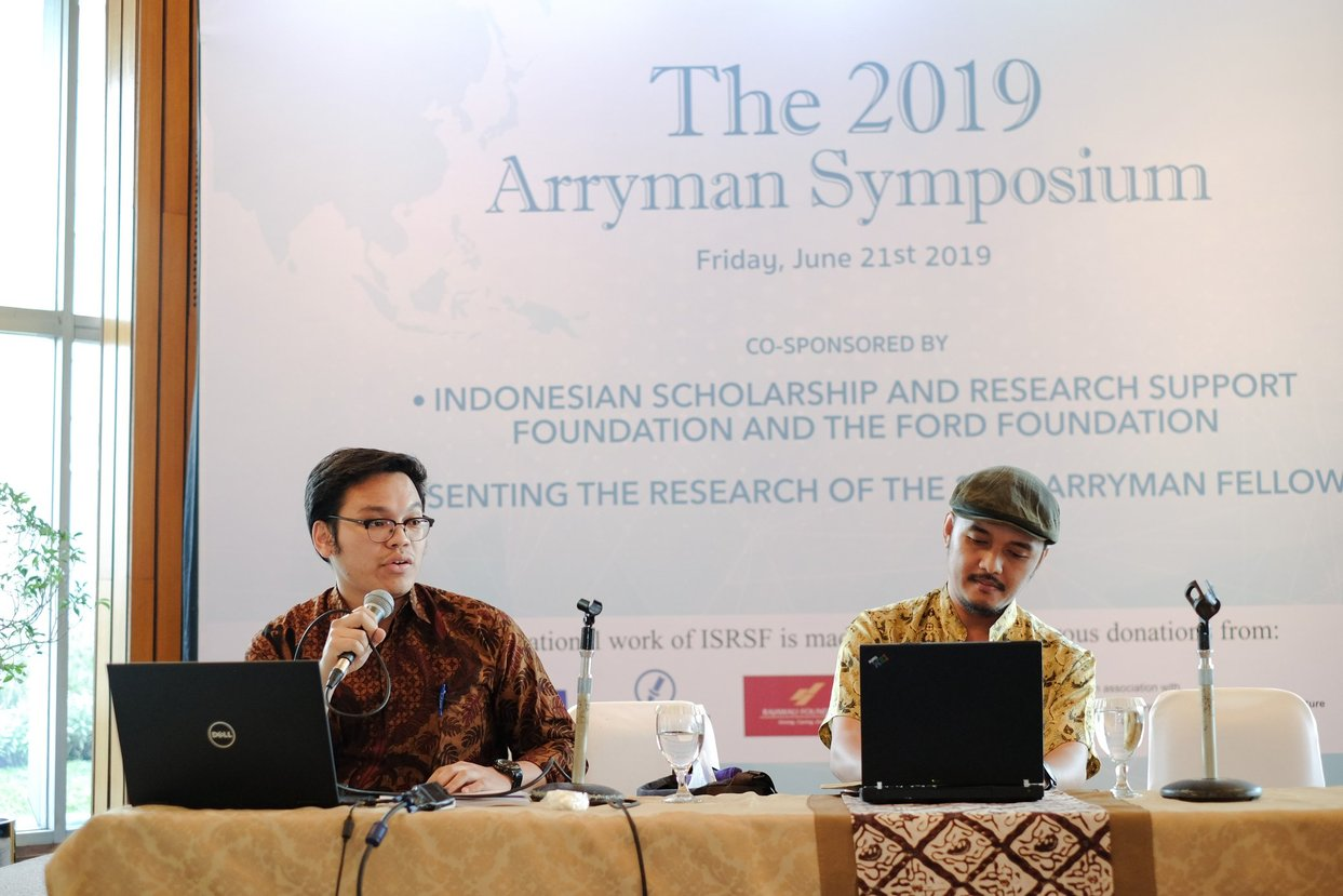 2019 Arryman Fellows Symposium,Jakarta 21 June 2019